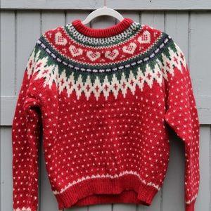 Vintage Nordic Christmas sweater!